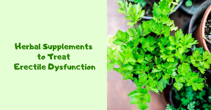 Herbal Supplements to Treat Erectile Dysfunction